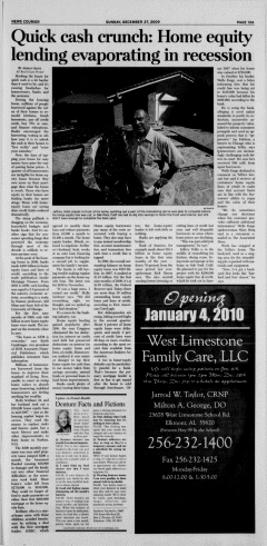 Athens News Courier, December 27, 2009, Page 26