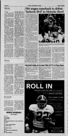Athens News Courier, December 27, 2009, Page 40
