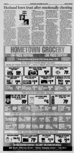 Athens News Courier, December 30, 2009, Page 47