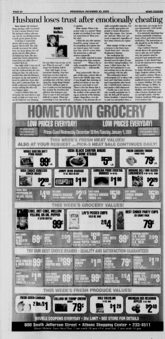 Athens News Courier, December 30, 2009, Page 48