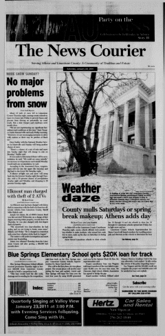 Athens News Courier, January 22, 2011, Page 3