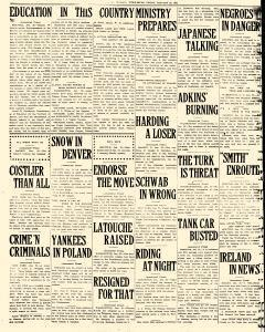 Fairbanks Weekly News Miner and Daily Citizen, January 28, 1921, Page 6