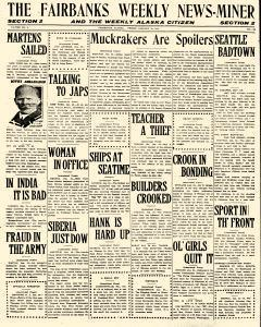 Fairbanks Weekly News Miner and Daily Citizen, January 28, 1921, Page 9