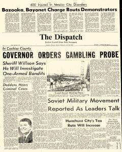 Douglas Dispatch, July 30, 1968, Page 1