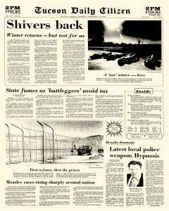 Tucson Daily Citizen, February 17, 1977, Page 1