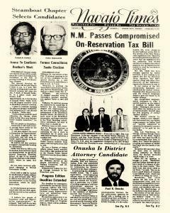 Navajo Times, February 26, 1976, Page 1