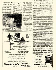 Navajo Times, February 26, 1976, Page 11