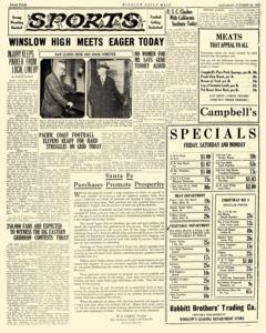 Winslow Daily Mail, October 22, 1927, Page 4