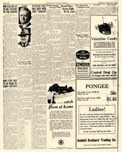 Winslow Daily Mail, February 09, 1928, Page 6