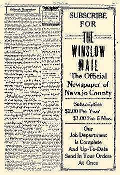 Winslow Mail, August 20, 1910, Page 5