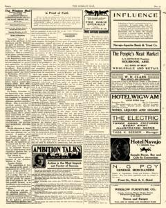 Winslow Mail, November 25, 1911, Page 2