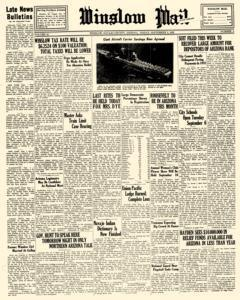Winslow Mail, September 02, 1932, Page 1
