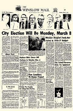 Winslow Mail, March 04, 1976, Page 1