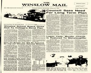 Winslow Mail, August 22, 1990, Page 1