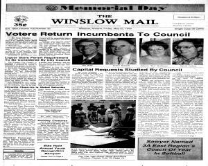 Winslow Mail, May 22, 1998, Page 1
