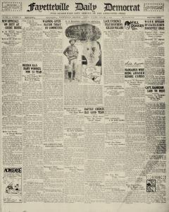 Fayetteville Daily Democrat, January 02, 1933, Page 2