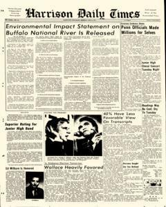 Harrison Daily Times, May 06, 1974, Page 1