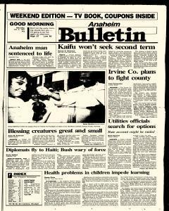 Anaheim Bulletin, October 05, 1991, Page 2