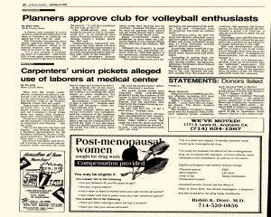 Anaheim Bulletin, October 08, 1992, Page 4