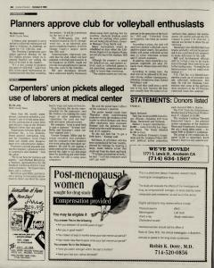 Anaheim Bulletin, October 08, 1992, Page 11