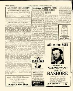 Arcadia Bulletin, August 15, 1940, Page 2