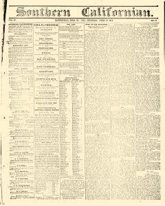 Bakersfield Californian, April 15, 1875, Page 1