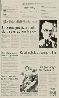 Bakersfield Californian, October 04, 1976, Page 1