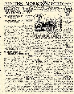 Bakersfield Morning Echo, January 28, 1911, Page 1