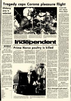 Corona Norco Independent, January 12, 1973, Page 1