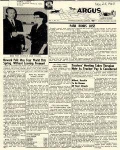 Argus, November 25, 1960, Page 1