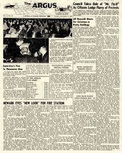 Argus, December 09, 1960, Page 1