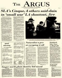 Argus, May 18, 1974, Page 1