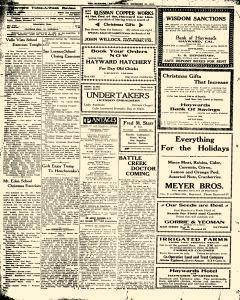 Hayward Twice A Week Review, December 20, 1912, Page 2