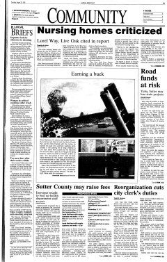 Marysville Yuba City Appeal Democrat, August 29, 1995, Page 22