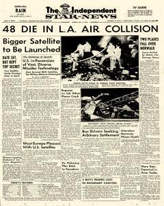 Pasadena Independent Star News, February 02, 1958, Page 1