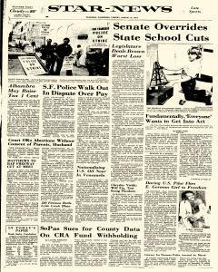 Star News, August 19, 1975, Page 1