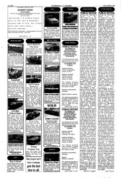 Porterville Reporter, July 31, 2009, Page 20