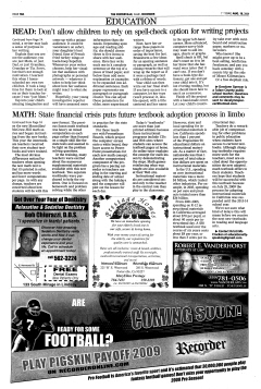 Porterville Reporter, August 18, 2009, Page 10