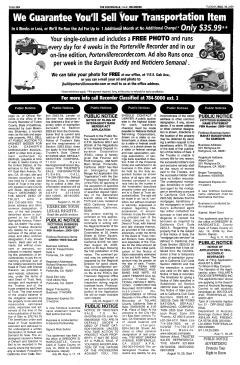 Porterville Reporter, August 18, 2009, Page 22