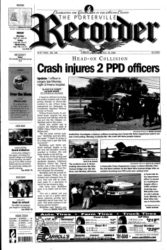 Porterville Reporter, August 18, 2009, Page 1