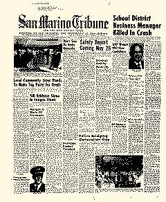 San Marino Tribune, May 14, 1970, Page 1