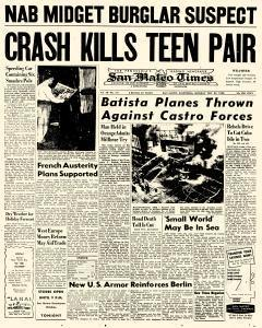 San Mateo Times, December 29, 1958, Page 4