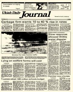 Ukiah Daily Journal, September 04, 1985, Page 1
