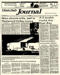Ukiah Daily Journal, March 30, 1986, Page 1