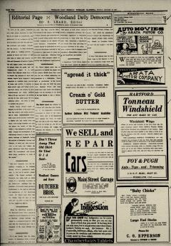 Woodland Daily Democrat, January 16, 1920, Page 4
