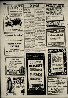Woodland Daily Democrat, April 26, 1920, Page 4