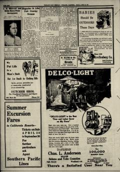 Woodland Daily Democrat, April 26, 1920, Page 8
