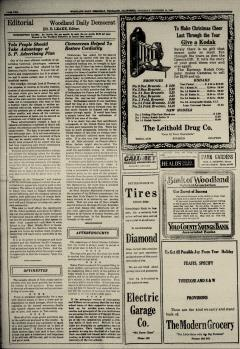 Woodland Daily Democrat, December 14, 1922, Page 4