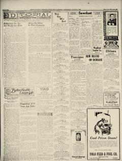 Woodland Daily Democrat, August 21, 1929, Page 4