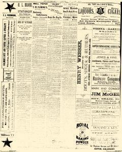 Aspen Daily Times, May 15, 1887, Page 4